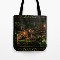 The Royal Bengal Tiger ( Tote Bag