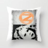 Zanzara Throw Pillow