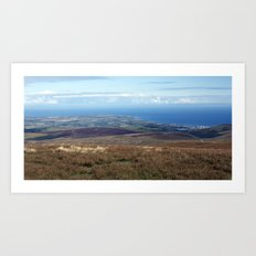 The Point of Ayre and Ramsey Art Print