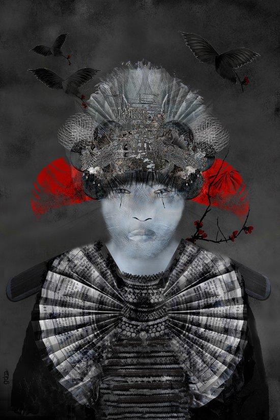 Samurai Spirit Art Print