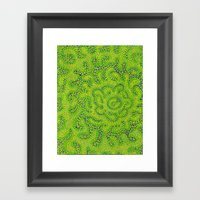 Taste Like Lime Framed Art Print