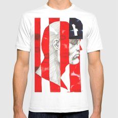 Oh, Captain. My Captain. White Mens Fitted Tee SMALL