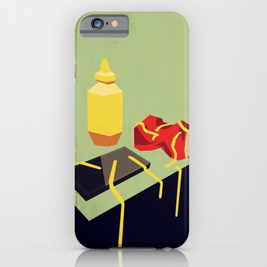 Still life with mustard iPhone & iPod Case