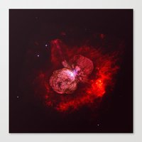 Red Star Division Canvas Print