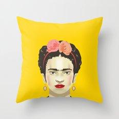 Frida Kahlo Throw Pillow