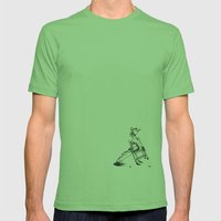Child Mens Fitted Tee Grass SMALL