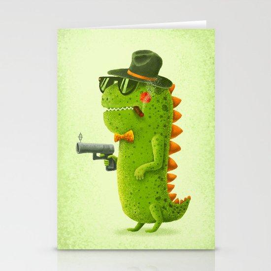 Dino bandito Stationery Card