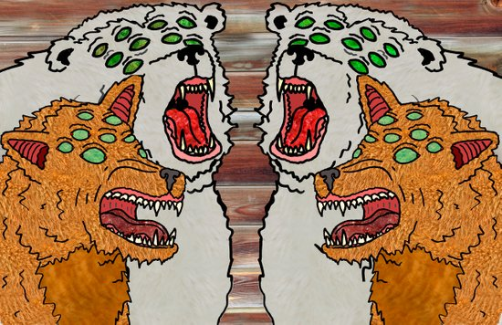 Angry Eyes Art Print