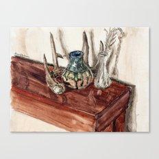 glaze and antler Canvas Print