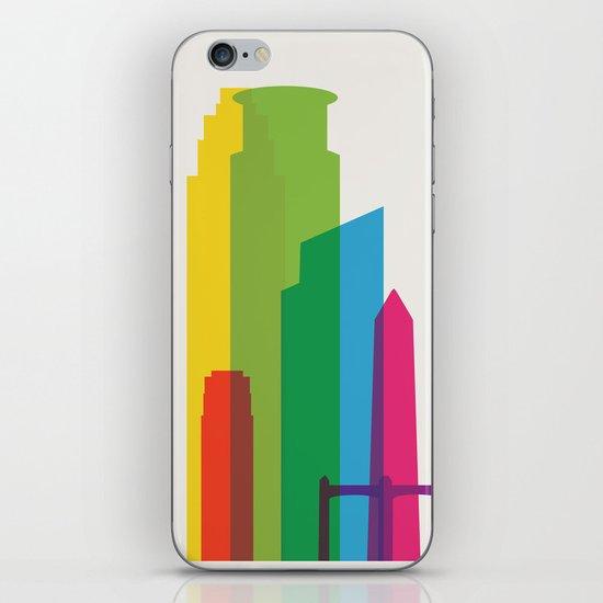 Shapes of Minneapolis iPhone & iPod Skin