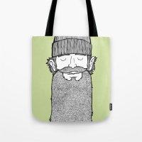 Lumberjack McBeardy Tote Bag
