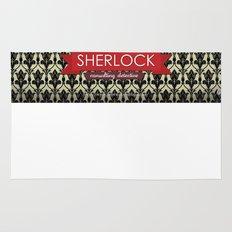 Sherlock Poster 1 Rug