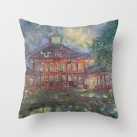Old Main Throw Pillow