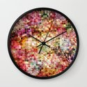 Rainbow Disco Wall Clock