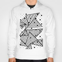 Abstract Spots Close Up Hoody