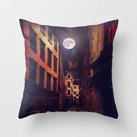 Gamla Stan, Stockholm. Throw Pillow