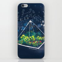 The Greenhouse at Night iPhone & iPod Skin