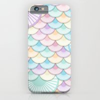iPhone & iPod Case featuring Pastel Wagon Wheels by rollerpimp