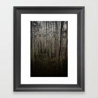 Deep Talks, Dark Walks.  Framed Art Print