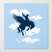 Sky Rodeo Canvas Print