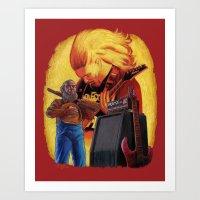 A Tribute To James McLau… Art Print