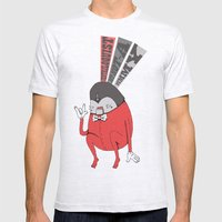 Ventriloquist Mens Fitted Tee Ash Grey SMALL