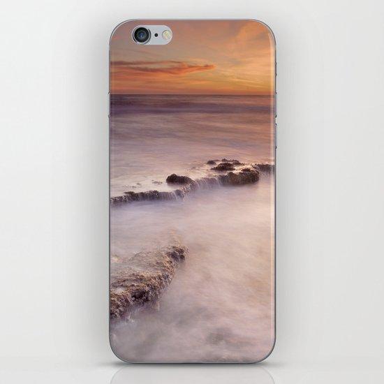 Waterfalls on the rocks iPhone & iPod Skin