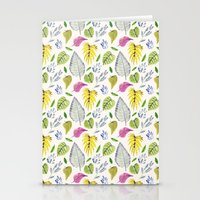 Jungle Leaves Stationery Cards