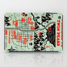 Twin Peaks Map iPad Case