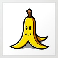 Banan Art Print