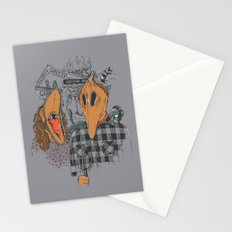 Beetle Gothic - A portrait of the recently deceased Stationery Cards