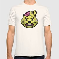 Zombie Winnie Mens Fitted Tee Natural SMALL