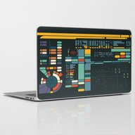 Laptop & iPad Skin featuring Control Interface by BadOdds