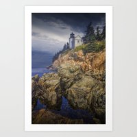 Bass Harbor HeadLight In… Art Print