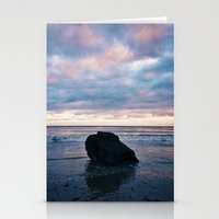 Sunset At El Pescador Be… Stationery Cards