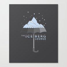 The Iceberg Lounge Canvas Print