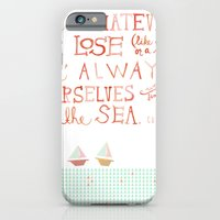 iPhone & iPod Case featuring for whatever we lose. .. by MEERA LEE PATEL