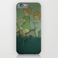 iPhone & iPod Case featuring Who Cares? by Rizky Warnerin's Illustrations