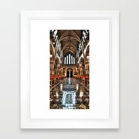 Christ Church Cathedral HDR Dublin Framed Art Print