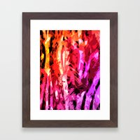 Forest Madness Framed Art Print
