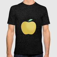 Apple 22 Mens Fitted Tee Tri-Black SMALL