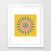 Kaleidoscope Quilt 2 Framed Art Print