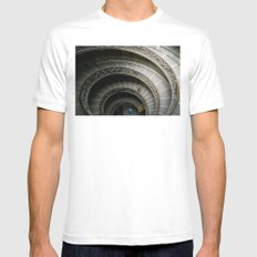 The Climb of a Lifetime White Mens Fitted Tee SMALL