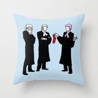 Laundry Mishap Throw Pillow