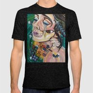Mute Mens Fitted Tee Tri-Black SMALL