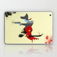 Red Hood & The Badass Wolf Redux Laptop & iPad Skin