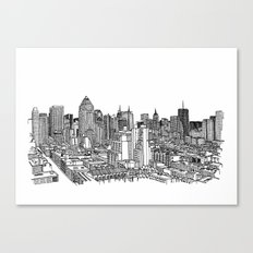 New York View 2 Canvas Print