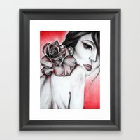 Asian Rose  Framed Art Print