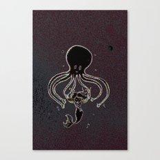 Polpo Love Canvas Print