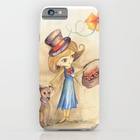 Flower Girl and her friend iPhone 6 Slim Case